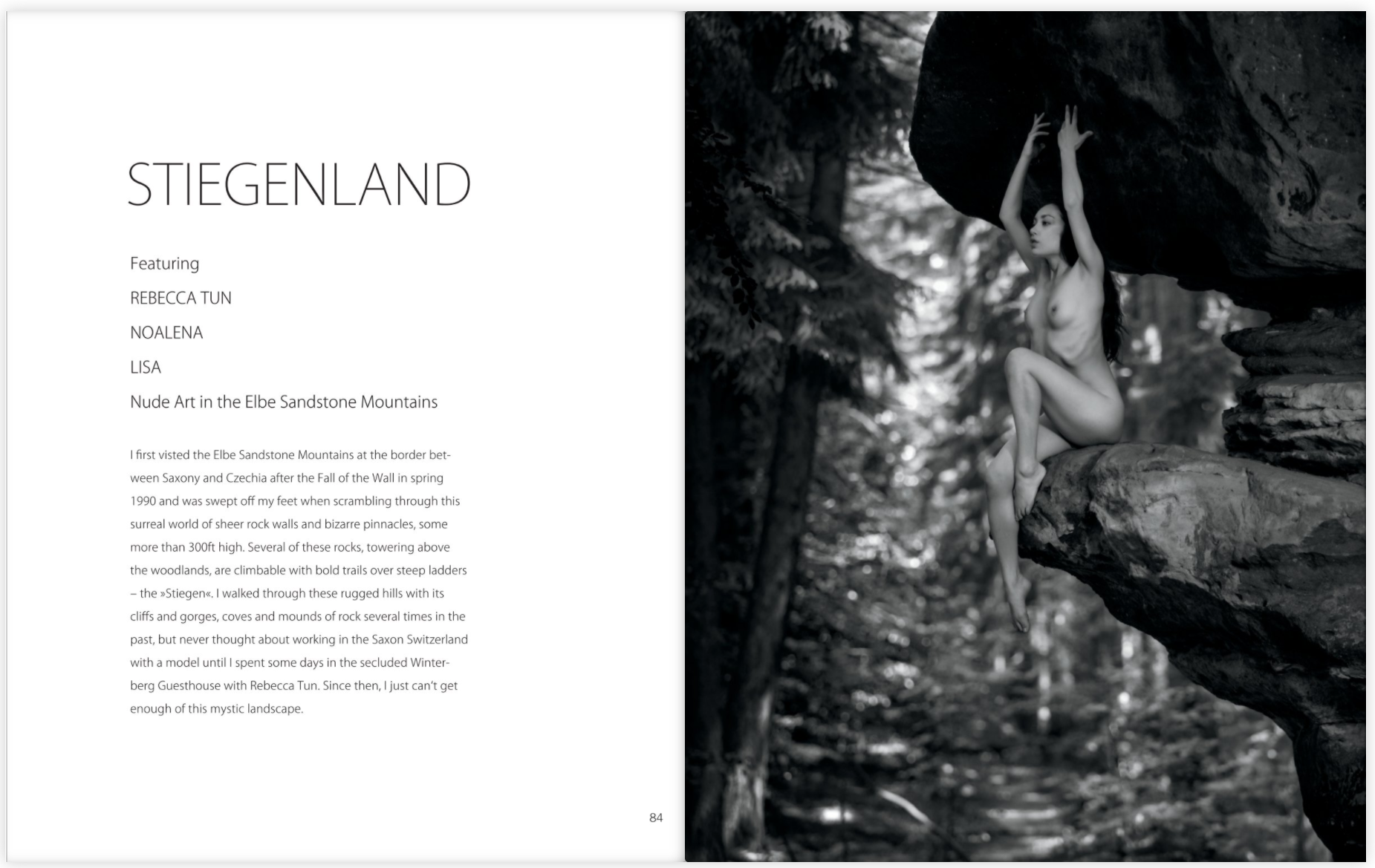 Stiegenland - Nude art in the Elbe Sandstone Mountains